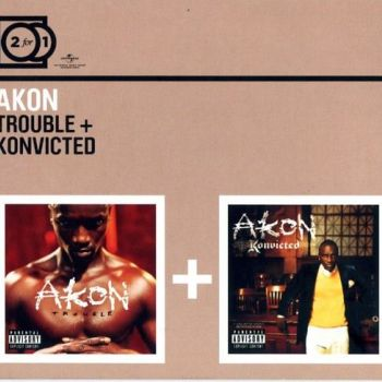 AKON-2 FOR 1: TROUBLE/KONVICTED CD2