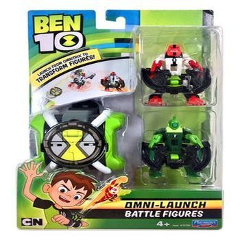 Ben10 - Omni Launch Four Arms&Wildvine