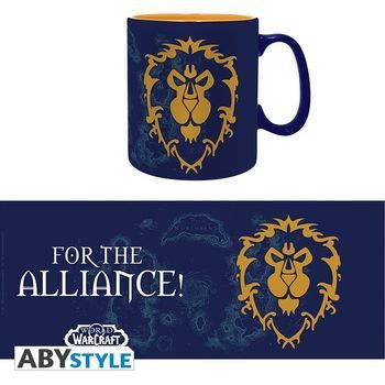 WORLD OF WARCRAFT - Mug - 460 ml - Alliance - box