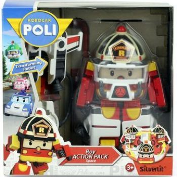 Robocar Poli - Roy Action Pack –Space