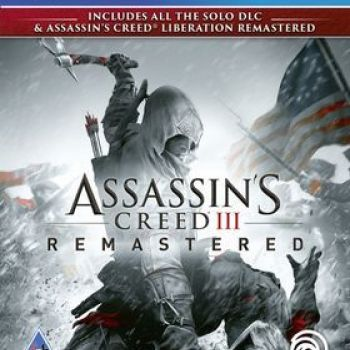 Assassins Creed 3 & AC Liberation HD Remaster PS4