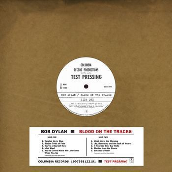 Blood On The Tracks - Original New York RSD