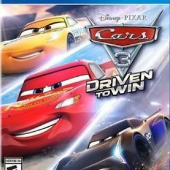 Cars3:Driven to win PS4