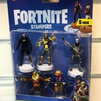 Fortnite figura-žig u blisteru 5pk FOR5040 sorto