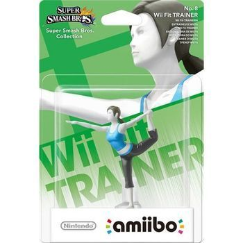Amiboo Super Smash Bros Wii Fit Trainer no 8 RNO8
