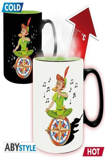 Disney - Mug Heat Change - 460 Ml - Peter Pan Neverland - Box